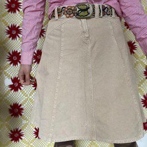 UNITED COLORS OF BENETTON corduroy skirt